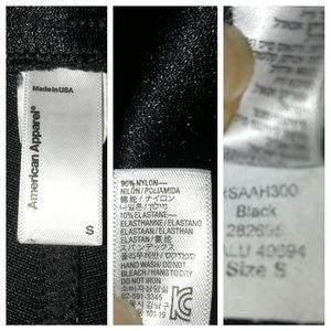 American Apparel Pants - American Apparel High-Rise Black Disco Pants, sz S
